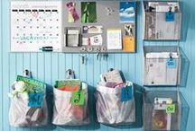 Home Organization / Tips, hacks, and tricks to improve your home organization & declutter, including DIY ideas printables for the home office, kitchen, bathroom, bedroom, and living room. Also includes tips for home binders and paper planners.