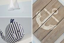 All Things Nautical / DIY and store-bought nautical and coastal design and decor, including preppy and rustic styles.