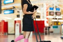 Zensah | Travel / Who doesn't love to travel? But sometimes it can be tiring on our bodies. Compression leg sleeves and compression socks can be very beneficial to relieve tired, aching legs after travel and long hours on your feet.