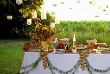 Pretty tablescapes (and all things for the table) / by Tanya Masterson