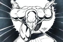 Comic Art - Silver Surfer