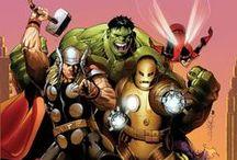 Comic Art - Avengers