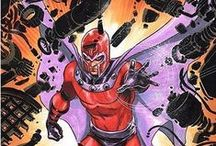 Comic Art - Magneto & Brotherhood