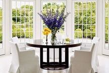 ROOMS | Kitchens + Dining Rooms / Room inspiration for eating, gathering and entertaining!