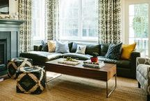 ROOMS | Living + Family / Inspiration for your living and family room.