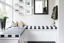 ROOMS | Entries + Mudrooms / Ideas for your home's entry way.