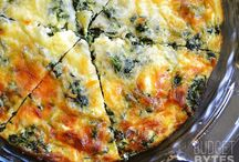 Eggs, Omelette's and Quiches