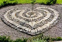 """Labyrinths / """"There are no wrong turns on the way to the center"""""""
