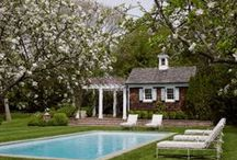 """Pool houses / """"All the cool kids live in pool houses!"""" Alice Stephenson, On Our Own Terms"""