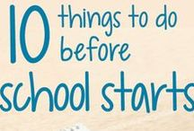 Back To School / Everything you need to do and have to get back to your classroom and rock this year!