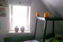 Mijn Slaapkamer 'Pake 'opa' Willem heeft mijn bed gemaakt