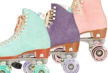 Roller skates, ice skates and whatever