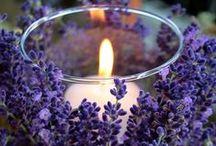velas | candles / Velas para decorar, perfumar e iluminar!