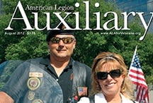 Auxiliary Magazine covers / Covers from the Auxiliary Magazine. Click on any issue to be taken to the website where you can view each issue online. / by American Legion Auxiliary National Headquarters