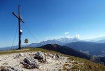 Wandern im Salzburger Land und in der benachbarten Steiermark / Wandergebiet Filzmoos, Dachstein, Bischofsmütze, Salzburger Sportwelt, Rossbrand, Hochkönig, Tennengebirge, Schladminger Tauern