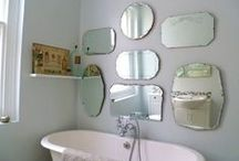 Multi Mirroring / A look at all the different and innovative ways to design with multiple mirrors. / by Shaynna Blaze