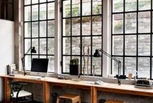 studio bliss / work space, studio, workshop