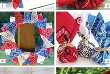A Wreath for Every Month / A DIY wreath for each month if the year to trace my front door.
