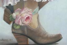 cowboy boots & hats...