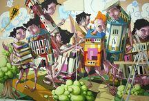 Art Grafitti Expressions 1 / by Cynthia Stewart