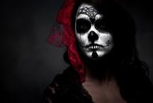 Day of the Dead // Dia de los Muertos / Day of the Dead makeup, sculptures or art.  / by vcresta