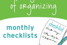 Home and Money Organization / by Tracy Wetsch