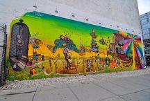 Street Art / Street art. More about murals than graffiti.  / by vcresta