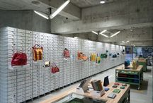 Store Designs // Retail Display / Full Retail stores or interesting sections of a particular store.  / by vcresta