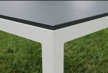 Outdoor Furniture  / Indoor/Outdoor Sustainable Furniture  Made with recycled Milk Jugs and aluminum frame.