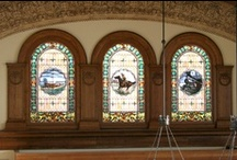 Historic Windows / Historic windows from around the world, and windows built or restored by Hull Historical. www.brenthull.com/historic-preservation.html / by Hull Historical