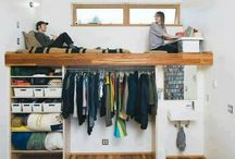 tiny living spaces / minimalist living inspiration / by alexandra wagoner