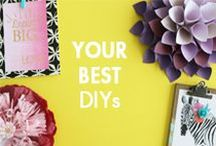 Your Best DIYs / A place to share your best DIY & craft projects! Email emily@blitsy.com to request to be added to this board.