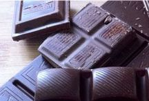 """Dark Chocolate Benefits / """"Chemically speaking, chocolate really is the world's perfect food. """"  ― Michael Levine"""
