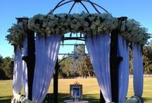 Lange Farm Weddings by Events in Bloom / Floral and Decor/Events in Bloom
