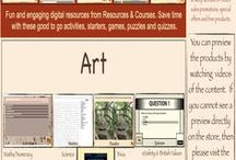 Art Teaching Resources & Ideas / Teaching Resources & Information