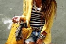 Sunshine yellow!