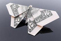 ...Dollar Bill Oragami / by Karen Runge