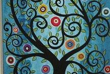 Art ~ Trees / by Ali Nishiguchi