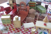 Vintage Dollhouse collection