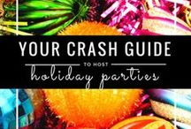 Holiday Party Handbook / Whether you're attending a cookie swap or hosting the holidays, be prepared for any holiday party with these tips, tutorials, and how-tos!