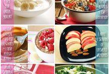 Healthy Snacks / healthy snack food ideas