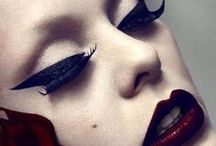 Fashion Editorial Make-up Inspirations  / makeup inspirations for Photoshoot and fashion shows