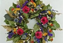 Dried Wreaths / by Wreaths For Door (Laurie Karras)