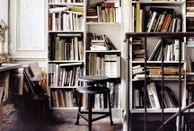 Spaces / I love frames and bookshelves. / by Andreea Novanc