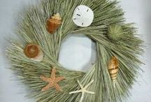 Seashell Wreaths / by Wreaths For Door (Laurie Karras)
