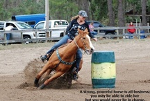 Barrel Racing / My sport and life :) / by Rhonda West