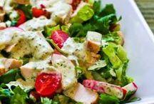 Edibles: salads
