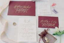:: fine art wedding |  invitation :: / calligraphy, invitation / by Nadia Hung