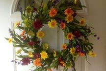 Artificial Wreaths / Beautiful artificial wreaths for doors. / by Wreaths For Door (Laurie Karras)
