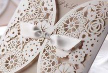 Glamorous Wedding Invitations / Beautiful Wedding invitations